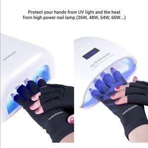 UV shield gloves for Gel Manicure